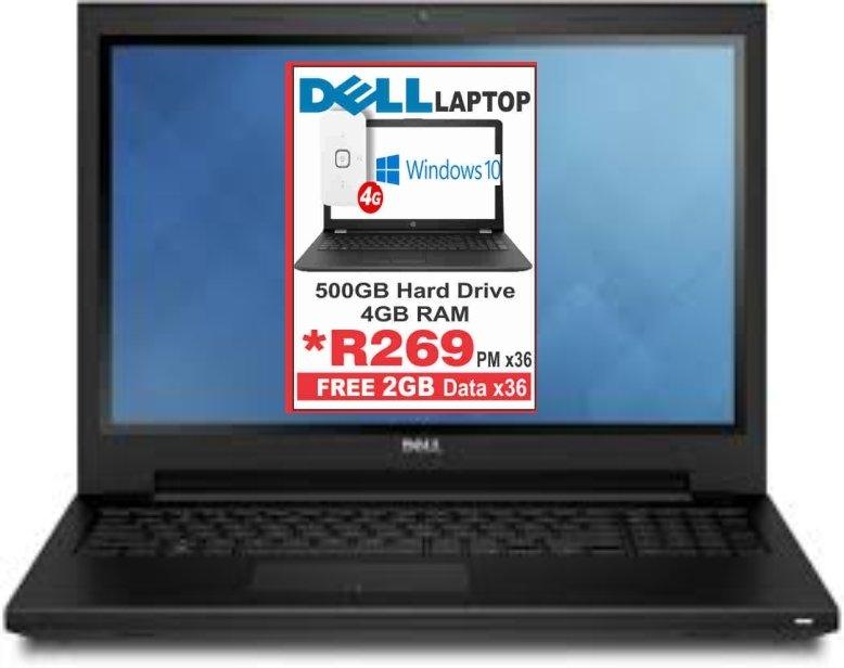 Dell Inspiron 15 Celeron Laptop
