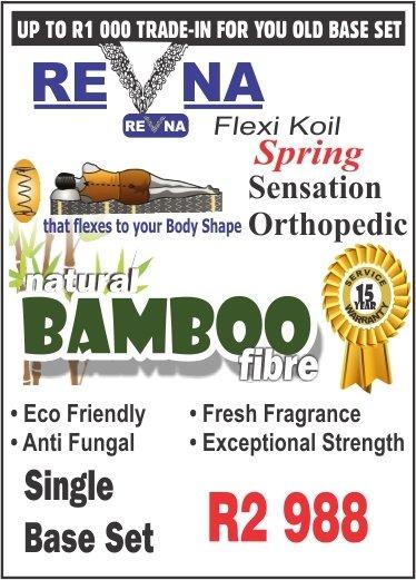 Revna Sensation Orthopaedic Single base set