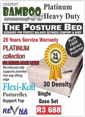 Revna Platinum heavy Duty single base set