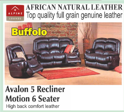Avalon 5 Recliner Motion 6 Seater with Trade-Inn