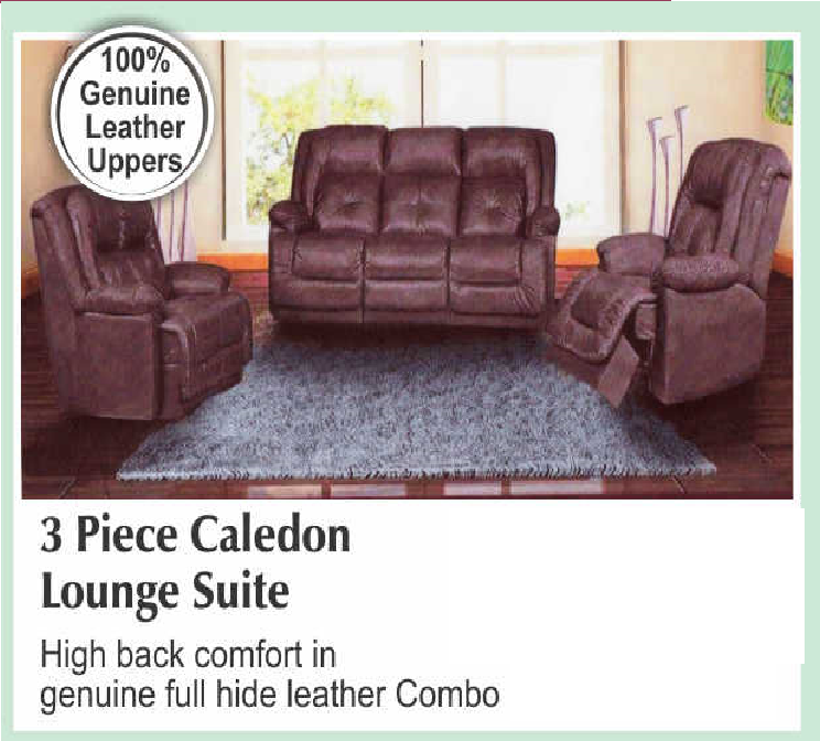 3 Piece Caledon Lounge Suite with Trade-Inn