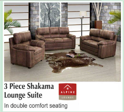 3 Piece Shakama Lounge Suite with Trade-Inn
