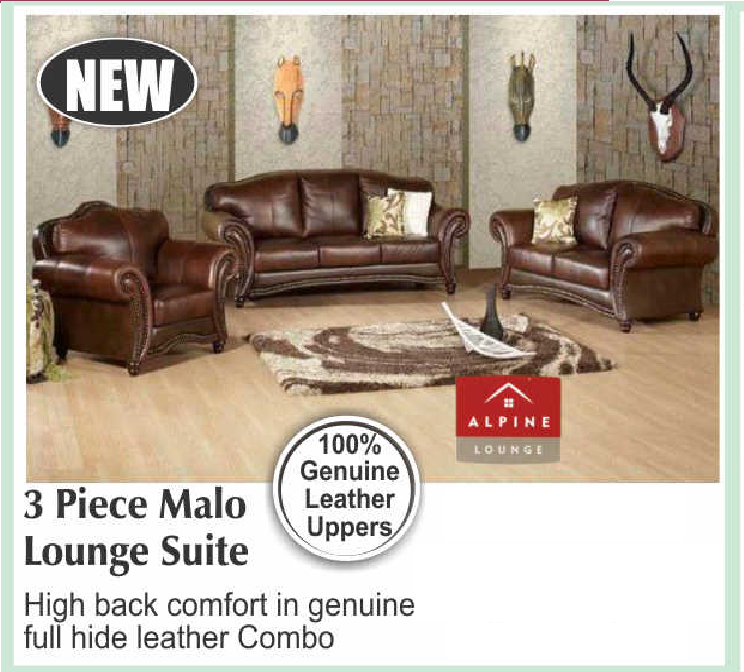 3 Piece Malo Lounge Suite with Trade-Inn