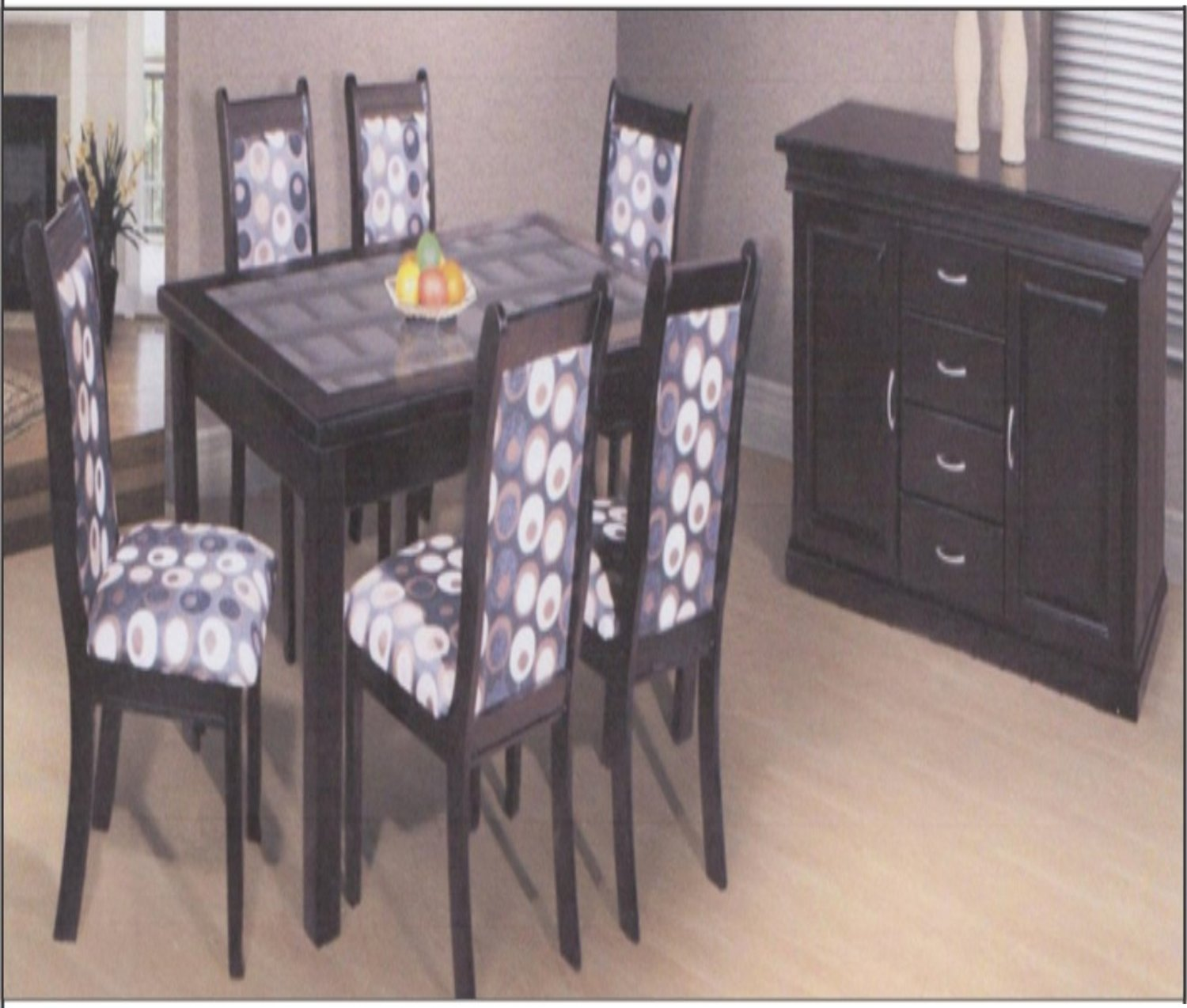 new 8 peice texas dining room suite
