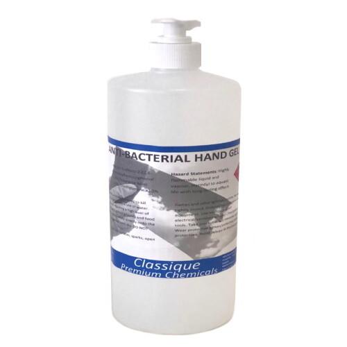 ANTIBACTERIAL HAND GEL AUSTRALIAN MADE 500ml / 1L / 5L