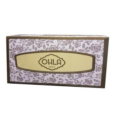 OHLA PREMIUM FACIAL TISSUES 3 PLY 100 SHEETS CTN 24 BOXES