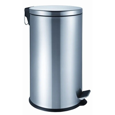 STAINLESS STEEL PEDAL STEP BIN 40 LITRES