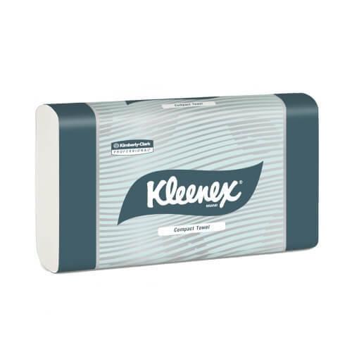 KLEENEX 4440 WHITE COMPACT HAND TOWEL 29.5CM X 19CM 90 SHEETS CTN 24