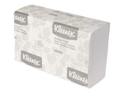 KLEENEX 1890 MULTIFOLD TOWEL 24CM X 23.5CM 150 SHEETS CTN 16