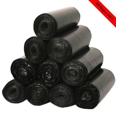 PREMIUM BIN LINER 140 LITRE BLACK CTN 200