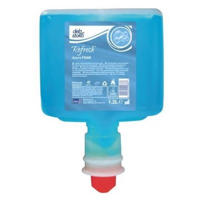 DEB REFRESH AZURE FOAM WASH 1.2L CARTRIDGE