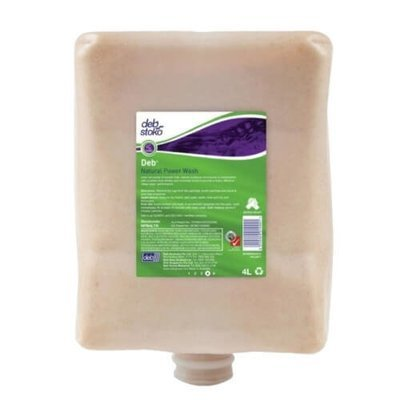 DEB NATURAL POWER WASH 4 X 4L CARTRIDGE