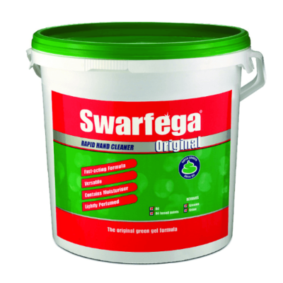 DEB SWARFEGA GREEN HAND CLEANSER GEL 12.5KG TUB