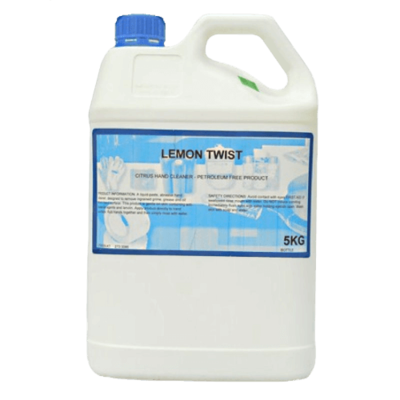 LEMON TWIST HAND CLEANER 5 KG BOTTLE \ 20 KG BOTTLE