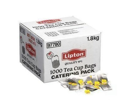 LIPTON TEA CUP BAGS CATERING PACK 1000 BAGS