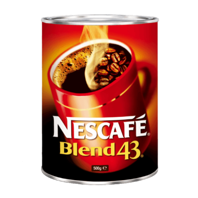 NESCAFE BLEND 43 COFFEE 500G TIN