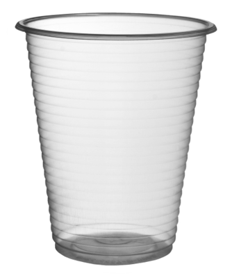 PLASTIC VENDING CUPS 180ml (6oz)