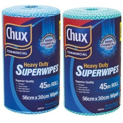 CHUX 9305G SUPERWIPES HEAVY DUTY 30CM x 45M ROLL