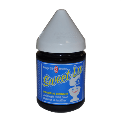SWEET LU BLUE AUTOMATIC TOILET BOWL CLEANSER & SANITISER