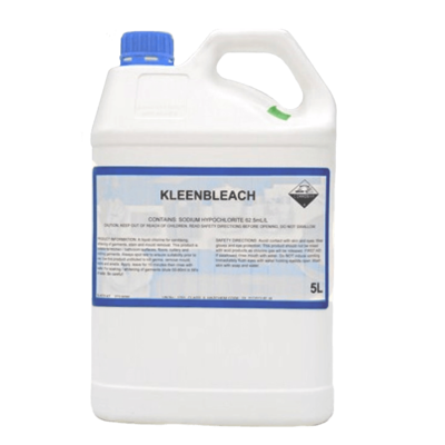 KLEENBLEACH STRONG LIQUID BLEACH 5 LITRES