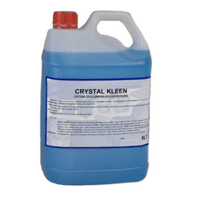 CRYSTAL KLEEN MIRROR AND GLASS CLEANER 5 LITRE