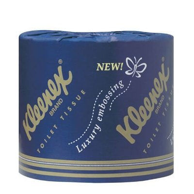 KLEENEX 4737 EXECUTIVE TOILET TISSUE 2 PLY 300 SHEETS CTN 48