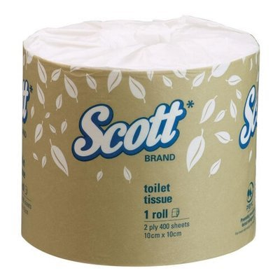 SCOTT 5741 TOILET TISSUE 2 PLY 400 SHEETS CTN 48
