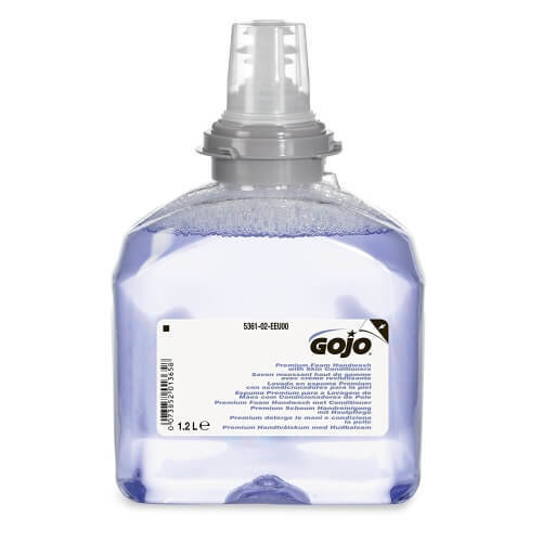 GOJO FOAM SOAP CARTRIDGE 1.2L TO SUIT TFX TOUCH-FREE DISPENSER