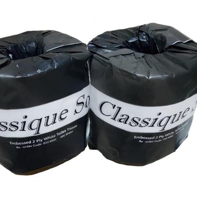 CLASSIQUE SOFT TOILET TISSUE 2 PLY 400 SHEETS CTN 48