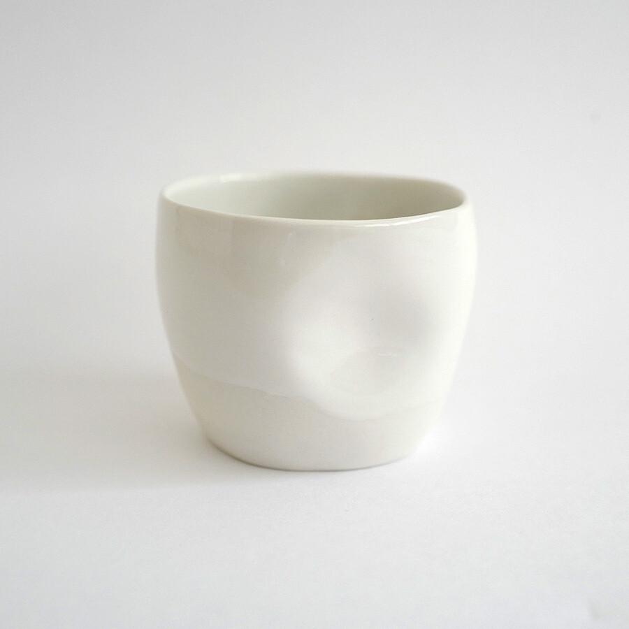 Carbon-based Life - sakecup, porcelain, handmade, coffee, gift, espresso
