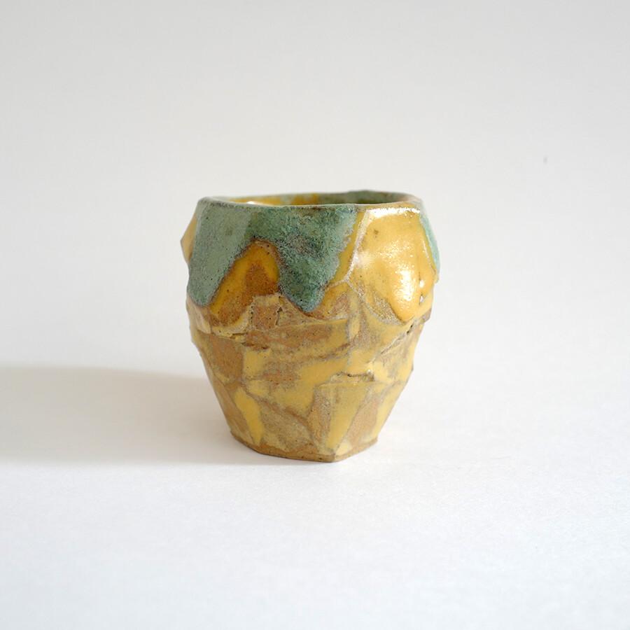 Sake cup - ceramics, stoneware, handmade, sake, gift