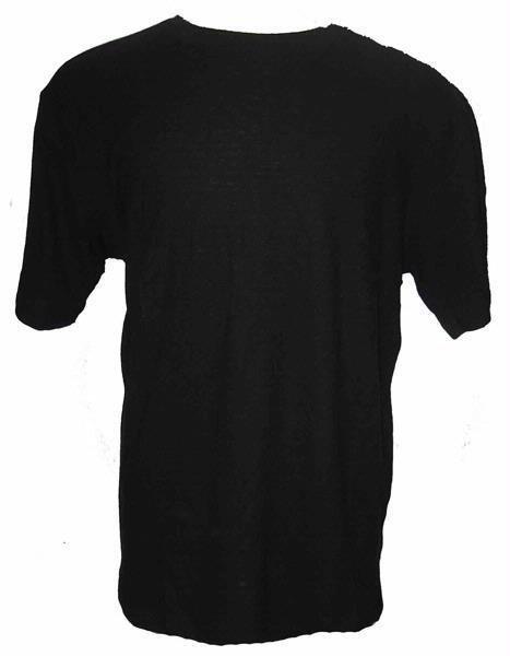 55% Hemp / 45% Organic Cotton T-Shirt 12 Pack  (Black)