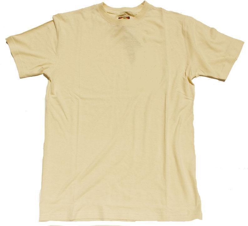 55% Hemp / 45% Organic Cotton T-Shirt 12 Pack (Natural)