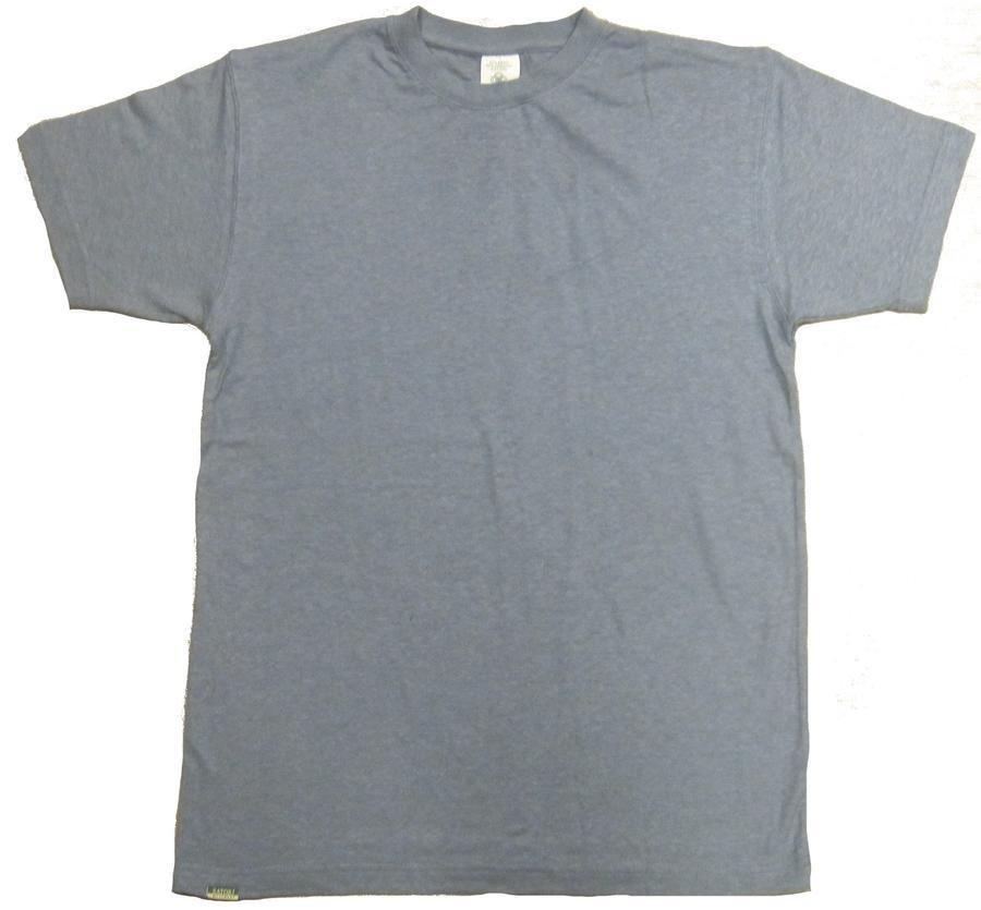 55% Hemp / 45% Organic Cotton T-Shirt 12 Pack (Cool Grey)