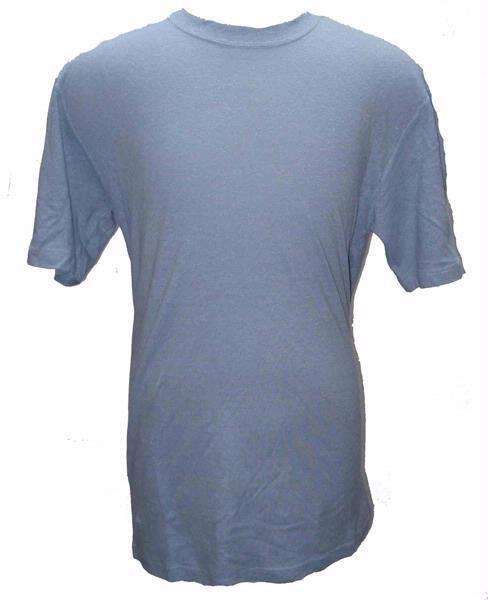 55% Hemp / 45% Organic Cotton T-Shirt 12 Pack (Sky)
