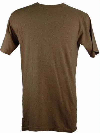 55% Hemp / 45% Organic Cotton T-Shirt 12 Pack (Sand)