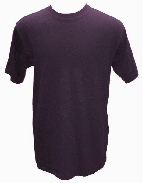 55% Hemp / 45% Organic Cotton T-Shirt 12 Pack (Purple)