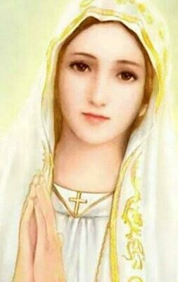 """""""My Litany to Mary"""" Holy Card"""