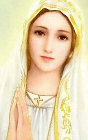 """""""My Litany to Mary"""" Holy Card pack of 100"""