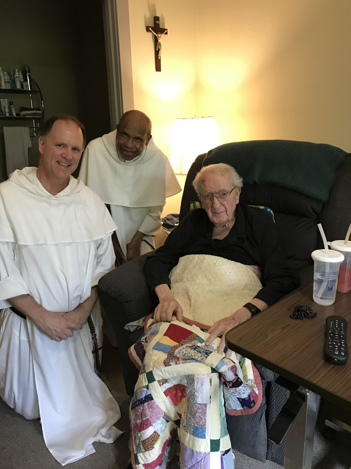 Donate $100,000 for RENOVATION of the Rosary Center