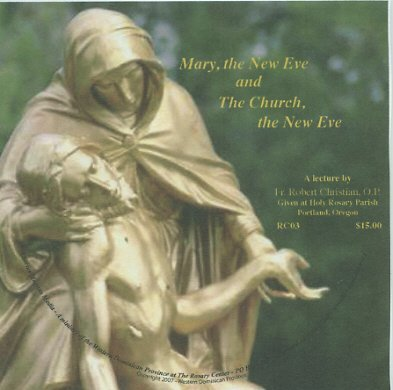Mary, the New Eve and The Church, the New Eve
