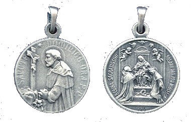 Rosary Confraternity Medal