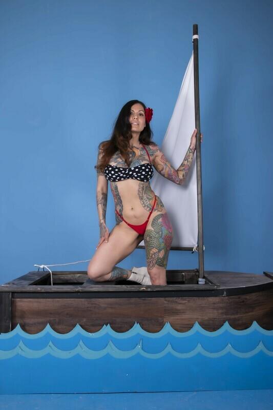 Rockabilly Rosie - Boat Set