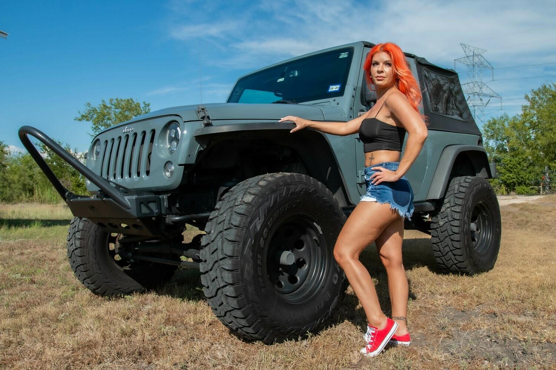 April Gunn - Jeep Girl Set