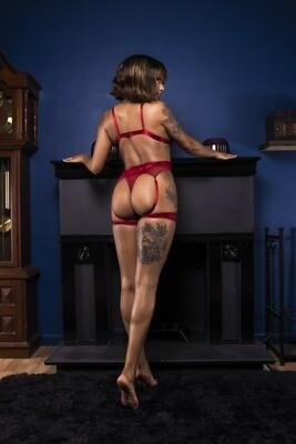 Avery - Red Lingerie