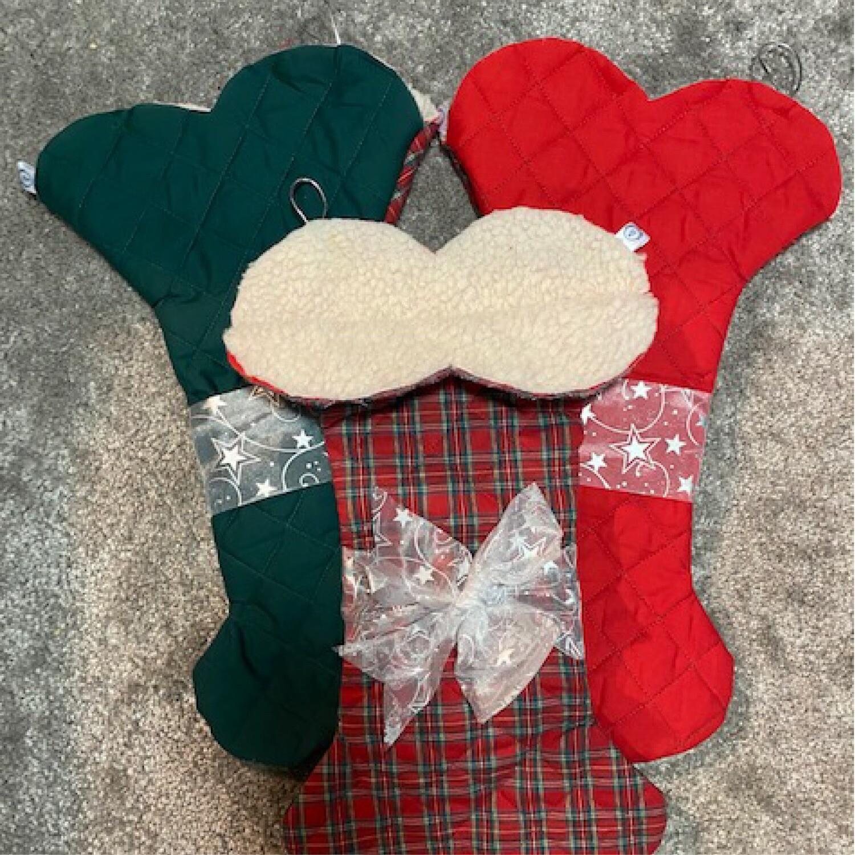 Christmas Bone Stockings
