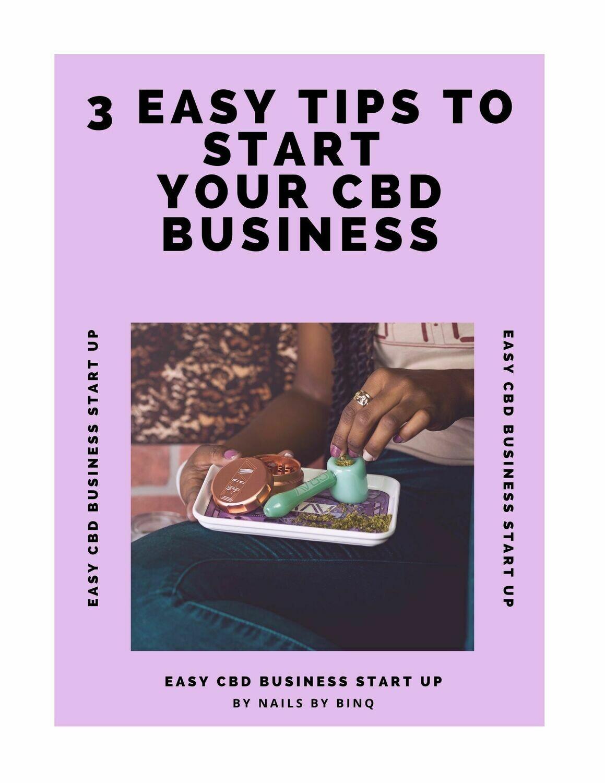 FREE CBD BUSINESS START UP E-BOOK