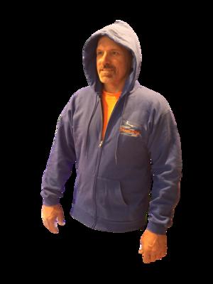 Classic Full-Zip Hooded Sweatshirt