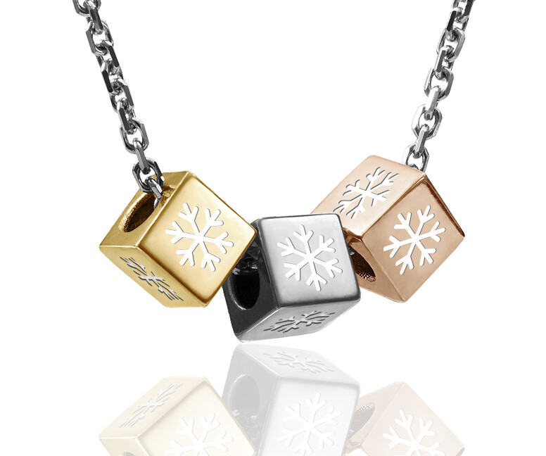 SNOWFLAKES   Chain Necklace