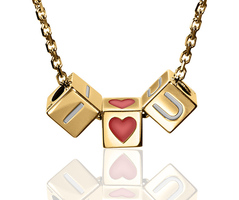 I ♡ U | Chain Necklace